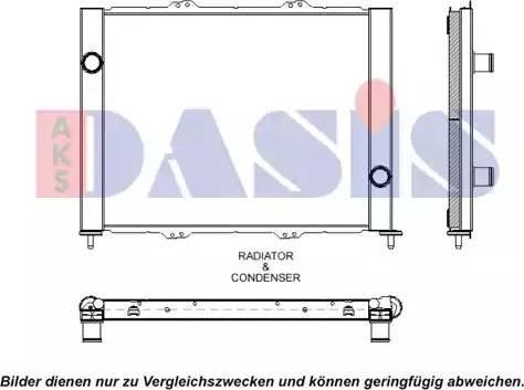 AKS Dasis 180082N - Модуль охлаждения autodif.ru