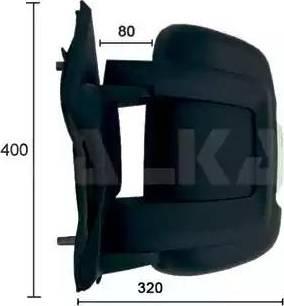 Alkar 9202922 - Наружное зеркало autodif.ru