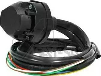 ASAM 98045 - Комплект электрики, прицепное оборудование autodif.ru