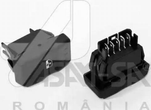 ASAM 30990 - Выключатель, стеклолодъемник autodif.ru