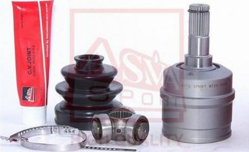 ASVA MTIU-5023 - Шарнирный комплект, приводной вал autodif.ru