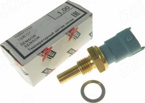 Automega 150071710 - Датчик, температура охлаждающей жидкости autodif.ru