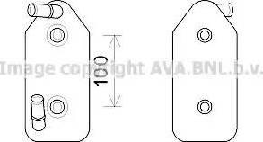 Ava Quality Cooling AI3356 - Масляный радиатор, автоматическая коробка передач autodif.ru