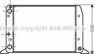 Ava Quality Cooling AIA2028 - Радиатор, охлаждение двигателя autodif.ru