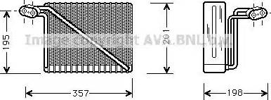 Ava Quality Cooling AIV148 - Испаритель, кондиционер autodif.ru