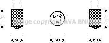 Ava Quality Cooling DWD042 - Осушитель, кондиционер autodif.ru