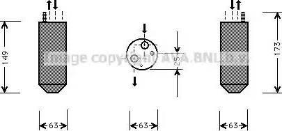 Ava Quality Cooling DWD029 - Осушитель, кондиционер autodif.ru