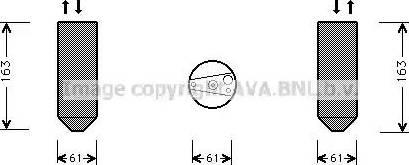 Ava Quality Cooling HDD109 - Осушитель, кондиционер autodif.ru
