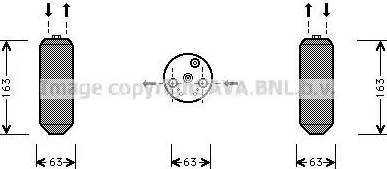 Ava Quality Cooling HDD103 - Осушитель, кондиционер autodif.ru