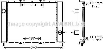 Ava Quality Cooling RT M388 - Модуль охлаждения autodif.ru