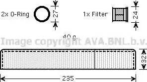 Ava Quality Cooling TOD349 - Осушитель, кондиционер autodif.ru