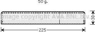 Ava Quality Cooling UVD125 - Осушитель, кондиционер autodif.ru
