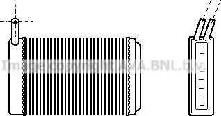 Ava Quality Cooling VN6061 - Теплообменник, отопление салона autodif.ru