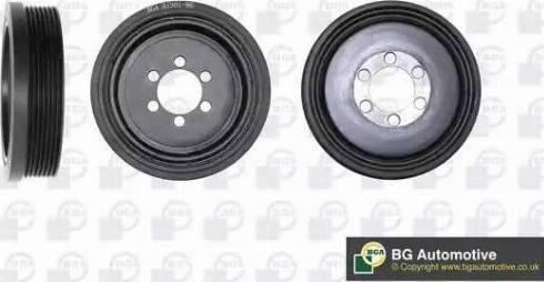 BGA DP1207 - Ременный шкив, коленчатый вал autodif.ru
