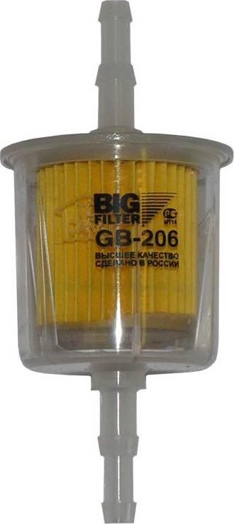 BIG Filter GB-206 BK - Топливный фильтр autodif.ru