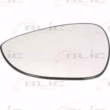 BLIC 6102-02-1291392P - Зеркальное стекло, наружное зеркало autodif.ru