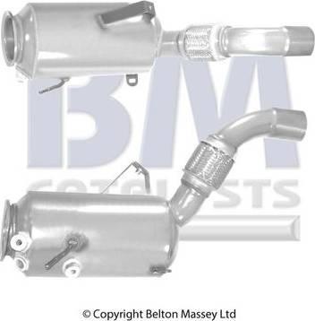 BM Catalysts BM11040H - Сажевый / частичный фильтр, система выхлопа ОГ autodif.ru