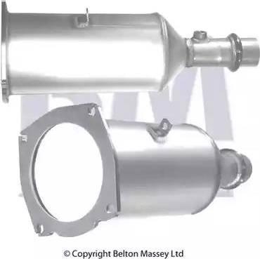 BM Catalysts BM11009 - Сажевый / частичный фильтр, система выхлопа ОГ autodif.ru
