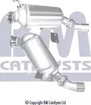 BM Catalysts BM11109H - Сажевый / частичный фильтр, система выхлопа ОГ autodif.ru