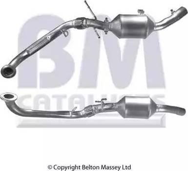 BM Catalysts BM11115 - Сажевый / частичный фильтр, система выхлопа ОГ autodif.ru