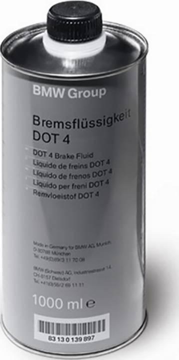 BMW 83 13 0 443 026 - Тормозная жидкость autodif.ru