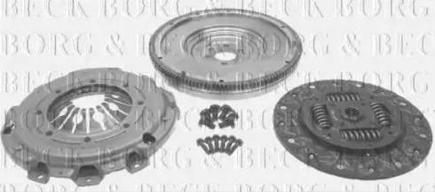 Borg & Beck HKF1045 - Комплект для переоборудования, сцепление autodif.ru