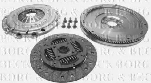 Borg & Beck HKF1003 - Комплект для переоборудования, сцепление autodif.ru