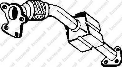 Bosal 099-958 - Катализатор autodif.ru