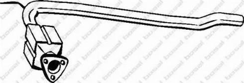 Bosal 099-895 - Катализатор autodif.ru