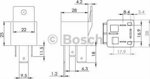 BOSCH 0 986 AH0 080 - Блок управления, время накаливания autodif.ru