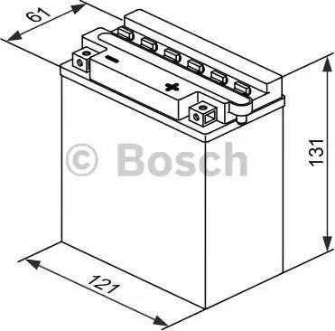 BOSCH 0092M4F180 - Стартерная аккумуляторная батарея autodif.ru