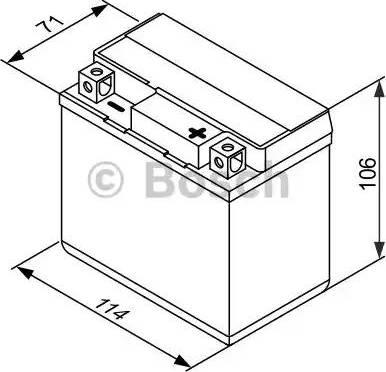 BOSCH 0092M60040 - Стартерная аккумуляторная батарея autodif.ru