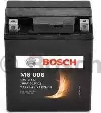 BOSCH 0092M60060 - Стартерная аккумуляторная батарея autodif.ru