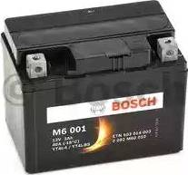 BOSCH 0092M60010 - Стартерная аккумуляторная батарея autodif.ru