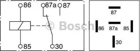 BOSCH 0 332 209 150 - Многофункциональное реле autodif.ru