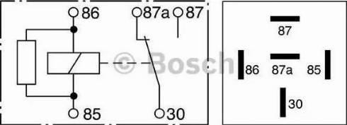BOSCH 0332209206 - Реле, противоблокировочное устройство autodif.ru