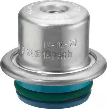 BOSCH 0280161511 - Регулятор давления подачи топлива autodif.ru