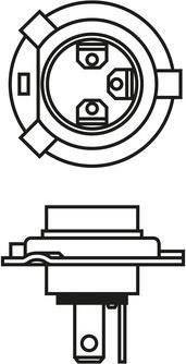BOSCH 1987302803 - Лампа накаливания, противотуманная фара autodif.ru