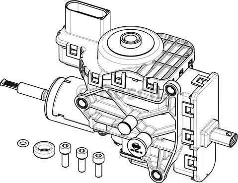 BOSCH F01C600194 - Модуль подачи, впрыск карбамида autodif.ru