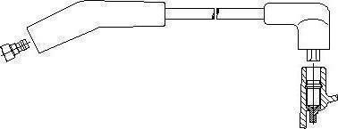 Bremi 43751 - Провод зажигания autodif.ru