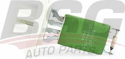 BSG BSG 30-846-004 - Сопротивление, вентилятор салона autodif.ru