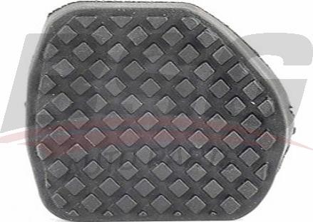 BSG BSG70700022 - Педальные накладка, педаль тормоз autodif.ru