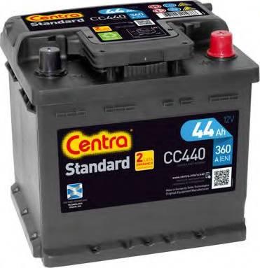 CENTRA CC440 - Стартерная аккумуляторная батарея autodif.ru