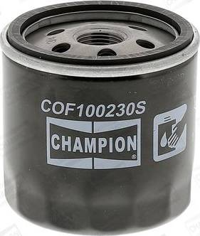 Champion COF100230S - Масляный фильтр autodif.ru