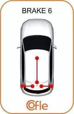 Cofle 106216 - Трос, стояночная тормозная система autodif.ru