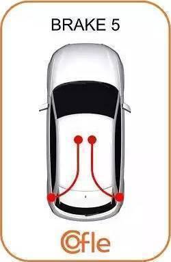 Cofle 115754 - Трос, стояночная тормозная система autodif.ru