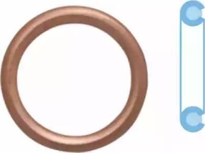 Corteco 402116H - Уплотнительное кольцо, резьбовая пробка маслосливн. отверст. autodif.ru
