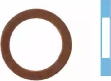 Corteco 005565H - Уплотнительное кольцо, резьбовая пробка маслосливн. отверст. autodif.ru