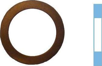 Corteco 005519H - Уплотнительное кольцо, резьбовая пробка маслосливн. отверст. autodif.ru