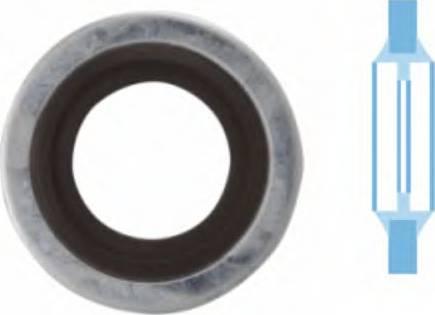 Corteco 006337H - Уплотнительное кольцо, резьбовая пробка маслосливн. отверст. autodif.ru